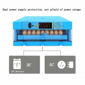 64/128/192/256 Eggs Transparent Hatching Machine Automatic Intelligent Dual Power